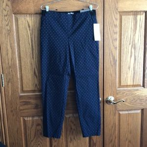 NWT. Maurices skinny ankle pants